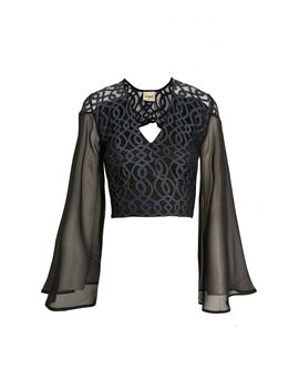 **Lunar Top By Lace & Beads by Topshop