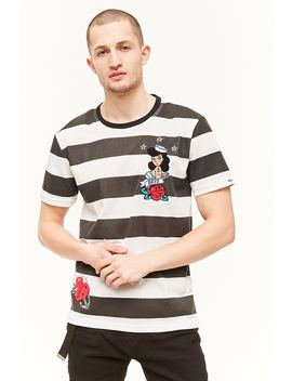 Bkys Striped Graphic Tee by Forever 21