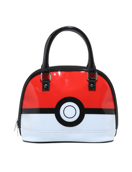 Loungefly Pokemon Poke Ball Patent Dome Bag by Hot Topic