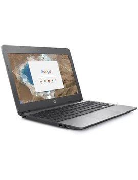 "Refurbished Hp 11 V010wm 11.6"" Chromebook, Chrome, Intel Celeron N3060 Processor, 4 Gb Ram, 16 Gb E Mmc Drive by Hp"