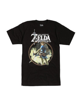 The Legend Of Zelda: Breath Of The Wild Link Bow &Amp; Arrow T Shirt by Hot Topic
