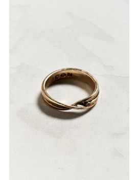 Icon Brand Twisted Heart Ring by Icon Brand