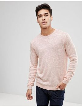 Only & Sons Knitted Sweater With Marl Fleck by Only & Sons