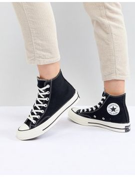 Converse Chuck 70 Hi Sneakers In Black by Converse