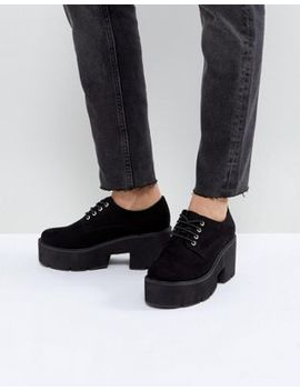 Asos Mega Chunky Lace Up Heels by Asos Collection