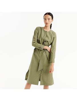 Petite Long Sleeve Shirtdress by J.Crew