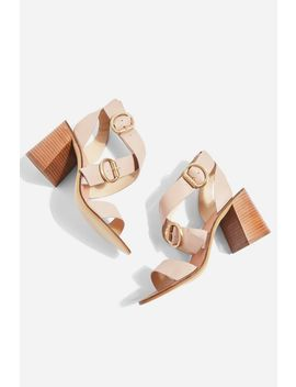 Buckle Sandals by Topshop