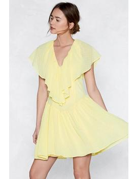 Ruffle Time Mini Dress by Nasty Gal