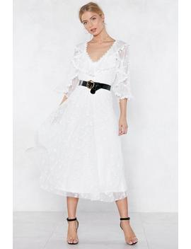 Your Love Capes Lifting Me Higher Lace Dress by Nasty Gal