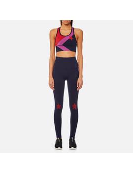 Lndr Women's Star Bra And Leggings Gift Set   Navy Marl by Lndr