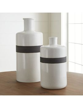 Douro Vases by Crate&Barrel
