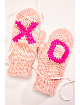 Hugs And Kisses Mitten by Free People