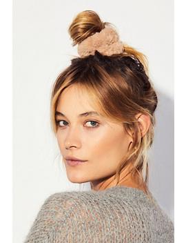 Faux Fur Scrunchie by Free People