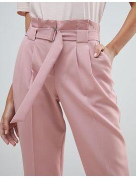 Miss Selfridge Papaerbag Trouser by Miss Selfridge