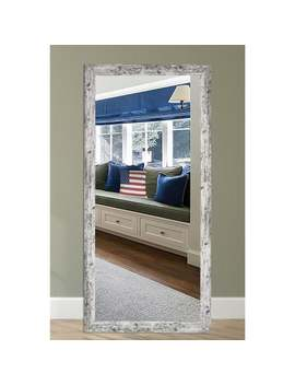 Us Made Weathered White Farmhouse Mirror by Rayne Mirrors