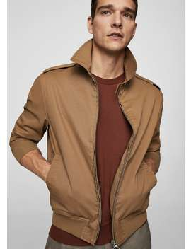 Cotton Loops Jacket by Mango