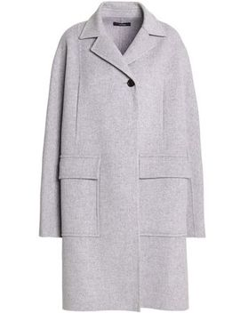 Mélange Wool And Cashmere Blend Coat by Joseph
