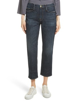Straight Leg Ankle Jeans by Frame