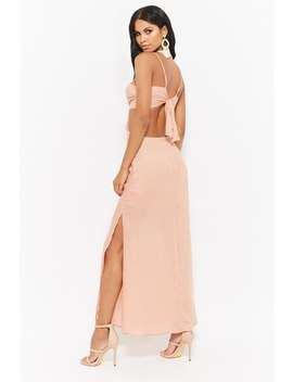 Brushed Open Back Dress by Forever 21