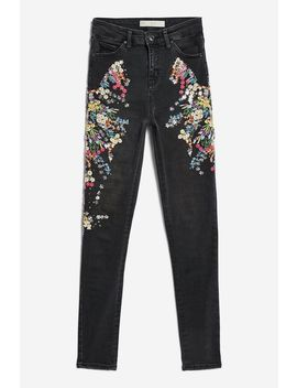 Moto Limited Edition Sequin Jeans by Topshop