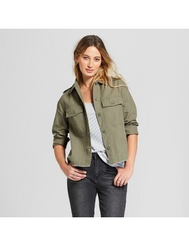 Women's Military Jacket   Universal Thread™ Olive by Universal Thread™