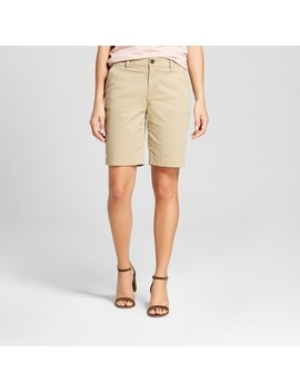 """Women's 9"""" Chino Shorts   A New Day™ by A New Day™"""