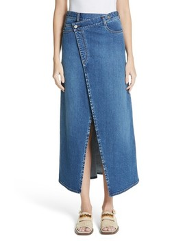 Foldover Denim Skirt by Stella Mccartney