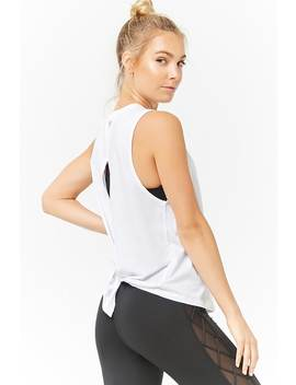Active Tie Back Tank Top by F21 Contemporary