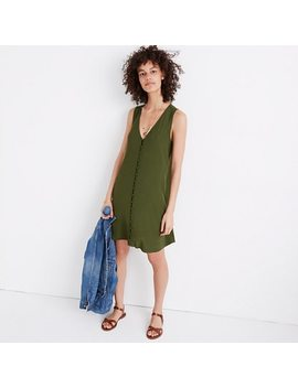 Heather Button Front Dress by Madewell