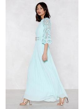 Bead Our Guest Maxi Dress by Nasty Gal