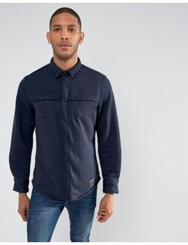 Brave Soul Quilted Panel Shacket by Shirt