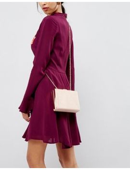 claudia-canova-structured-pink-clutch-bag by cart