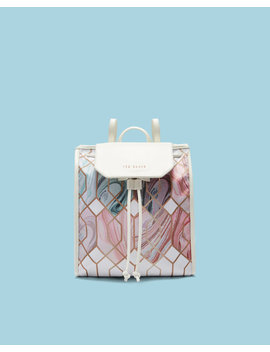 Sea Of Clouds Drawstring Backpack by Ted Baker