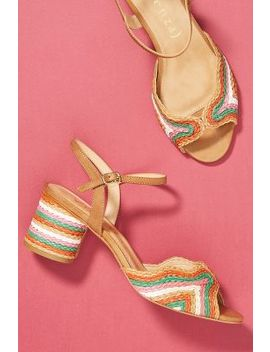 Vicenza Peep Toe Heeled Sandals by Vicenza