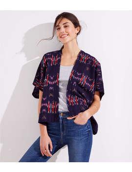 Ikat Kimono by Loft