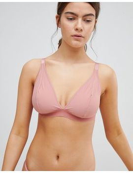 Asos Design Fuller Bust Basic Microfibre Mix & Match Triangle Bra by Asos Design