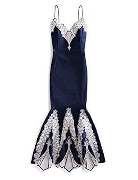 Jonathan Simkhai Women's Embroidered Poplin Gown by Jonathan Simkhai
