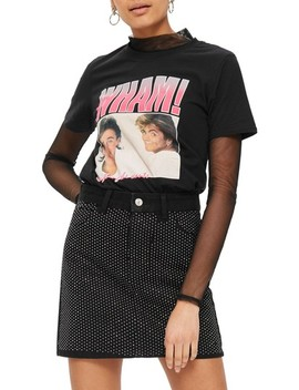 Wham! Graphic T Shirt by Topshop