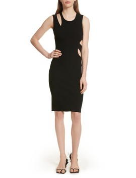 Slash Layered Tank Dress by Helmut Lang