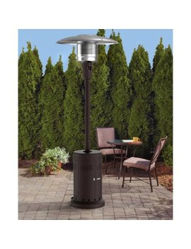 Mainstays Large Outdoor Patio Heater, Powder Coat Brown by Mainstays
