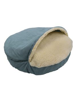 Snoozer Cozy Cave Luxury Solid Micro Suede Pet Bed by Snoozer