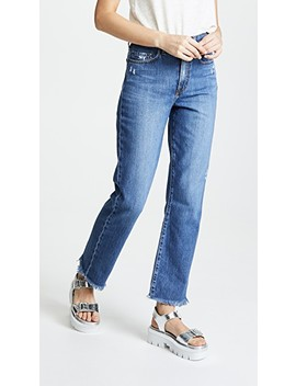 The Arlo Relaxed Straight Leg Jeans by Nobody Denim