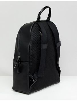 Smih And Canova Leather Backpack Black Contrast by Backpack