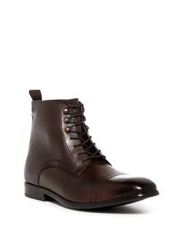 Clayton Cap Toe Boot by Base London