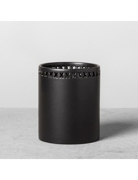 Stoneware Pencil Cup   Black   Hearth & Hand™ With Magnolia by Shop Collections
