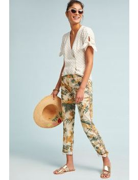 Relaxed Printed Chino Pants by Chino By Anthropologie