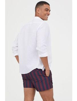 Striped Swim Shorts by H&M