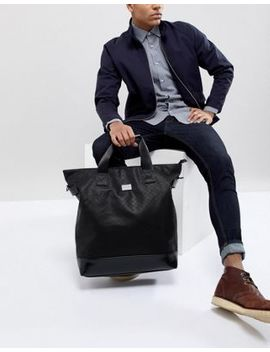 Peter Werth Tully Texture Tote Holdall by Peter Werth
