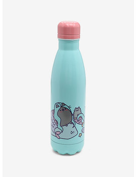 Pusheen Mermaid Pusheen & Stormy Stainless Steel Water Bottle by Hot Topic