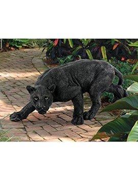 Black Panther Cat Feline New Statue (The Digital Angel) by Digital Angel